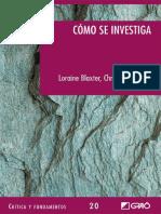 Cómo se investiga - Lorraine Blaxter.pdf