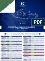 Jadwal Public Training 2018 R9