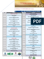 APDW2010 Scentific Programme