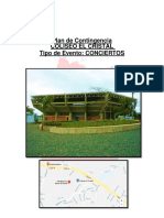 Plan de Contingencia Coliseo El Cristal