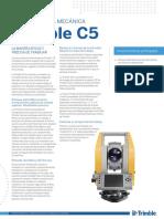 Especificaciones Tecnicas Trimble c5