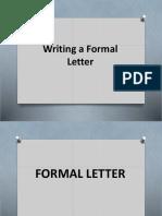 Chapter 3 Letter
