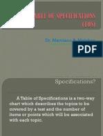 tableofspecifications2013.ppt