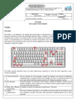 informática. El teclado