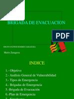 brigada evacuacion
