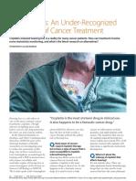 hipoacusia tras tratamiento de cancer