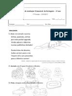 PLIM Ficha de avaliação português  1º periodo.doc