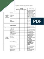 Lista de Chequeo o Evaluacion Del Puesto de Trabajo