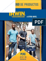 Catalogo Irwin 2019