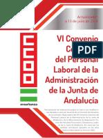 VI Convenio Personal Laboral