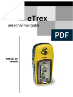 Manual GPS ETrex