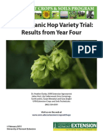 2014 Hops Variety Trial Report FINAL