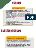 Conceptos Basicos de las habilitaciones urbanas