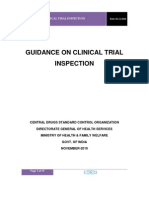 Clinical Trial Inspection Programme of India