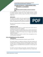 ESPECIFICACIONES TECNICAS - SACHAPITE