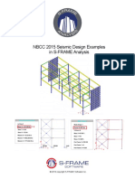 NBCC 2015 Seismic Design Examples in S-FRAME Analysis