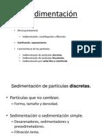 3.- Introducción sedimentación