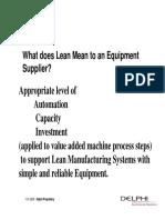 Lean Equip Design