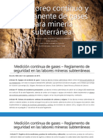 Monitoreo continuo y permanente de gases para minería-NM