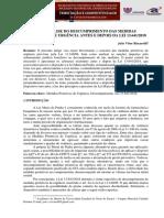 Análise Do Descumprimento Das Medidas Protetivas de Urgência Antes e Depois Da Lei 13.641-2018