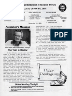 IBEW Union Paper Nov 1988