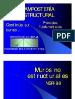 16-Elementos No Estructurales