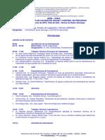 Programa Jornadas 2019
