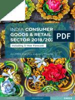 India consumer goods report