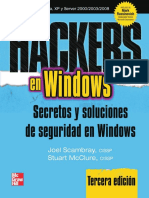 Hackers en Windows Secretos y Soluciones de Seguridad en Windows