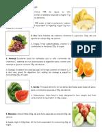 Frutas Que No Se Pueden Comer
