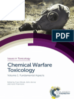 (Issues in Toxicology No. 26) Jenner, John_ Thiermann, Horst_ Worek, Franz-Chemical Warfare Toxicology, Volume 1-Royal Society of Chemistry (2016)