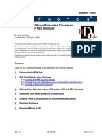 Mentor Graphics Corporation, Designing with Xilinx's Embedded Processors in HDL Designer, AppNote 10005