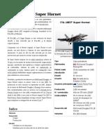 Boeing F a-18 Super Hornet
