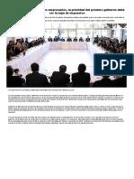 Elecciones 2019_ Para Los Empresarios, La Prioridad Del Próximo Gobierno Debe Ser La Baja de Impuestos - Infobae