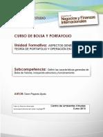 Bolsa y portafolio UAC