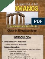 Romanos Clase 9