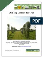 2015 Hop Compost Tea Trial