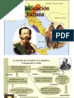 Diapositivas sobre la unificación italiana
