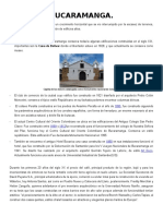 Historia de Bucaramanga