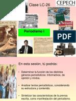 Clase LC 26 - Periodismo I