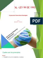 Ley Ambiental –Ley 99 de 1993