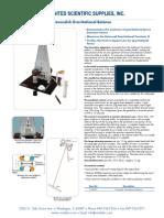 United Scientific Cavendish Gravitational Balance