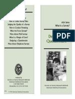 ASA - Designing a Questionnaire.pdf