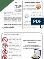 manual de protese auditiva