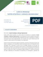 GuionGestionEstrategica y LiderazgoOrg