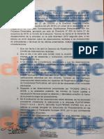 El documento que muestra que Smartmatic tuvo la peor calificación pero se quedó igual con el escrutinio provisorio