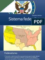 Federalismo Estados Unidos