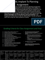 DEN 7226 2019 Session 1 Assignment Example and Grading