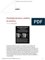 Psicología de Amos y Análisis de Esclavos _ David Pavón-Cuéllar