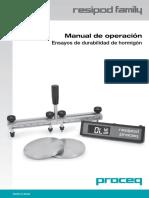 Manual Proceq RECIPOD